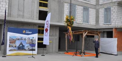 Topping out ceremony at the Investment called Warszawski Świt