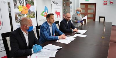 Agreement for reconstruction and expansion of the sewage treatment plant in Bielsk Podlaski
