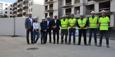 Topping out at the Wola Gabriela investment in Warsaw